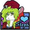 stamp: My Sona steph ~ pop out Stamp by StephDragonness