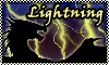 stamp:  DRAGON ELEMENT Lightning by StephDragonness