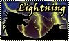 stamp:  DRAGON ELEMENT Lightning by StephDragonness