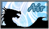 stamp:  DRAGON ELEMENT Air by StephDragonness