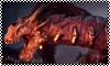 stamp: Red Lyrium Dragon by StephDragonness