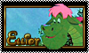 Stamp: Elliot the Dragon by StephDragonness