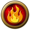Element Orb: Fire 2 by StephDragonness