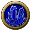 Element Orb: Crystals ~ Sapphire by StephDragonness
