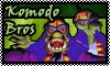 stamp: Komodo bros by StephDragonness