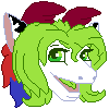 Pixel: Stephs Head - colored lines by StephDragonness