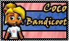 stamp: Coco bandicoot ~ crash tag team racing by StephDragonness
