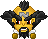 Pixel Emoticon: Dr Neo Cortex Classic ~static