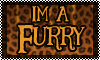 Stamp: im a Furry by StephDragonness