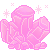 Pixel: Pixel Crystal Gems~Rose Quartz