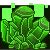 Pixel: Pixel Crystal Gems~Green Peridot