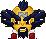 Pixel: Pixel Emoticon - Dr Cortex -Titan version