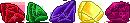 Pixel: Spyro Gems Divider by StephDragonness