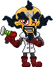 Pixel: Page Doll Doctor Neo Cortex by StephDragonness