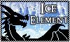 Stamp: DRAGON ELEMENT Ice