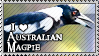 Stamp: I love Australian Magpies by StephDragonness