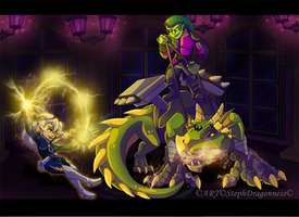 AT: Electra Vs Von Orrme by StephDragonness