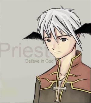 Priest by kaye