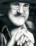 Terry Pratchett by Corleinne
