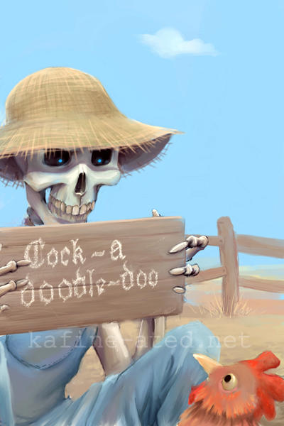 Dock-a-loodle-fod by a-discworld-guild