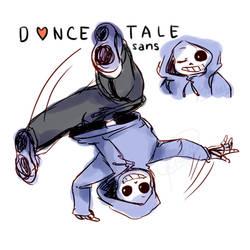 Dancetale - Sans by kiacii-official