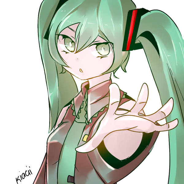 Hatsune Miku by kyashee