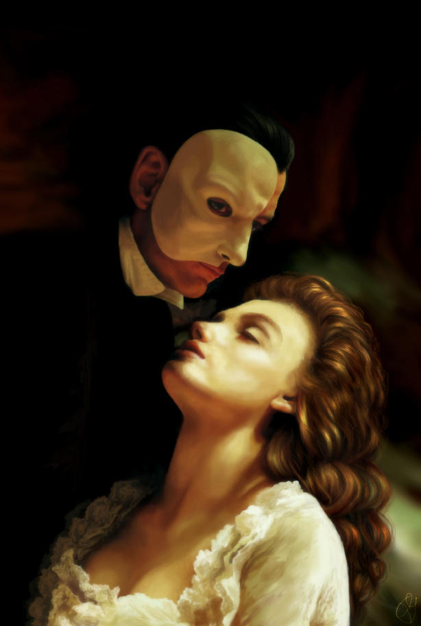 phantom of the opera by AngelikAdrie