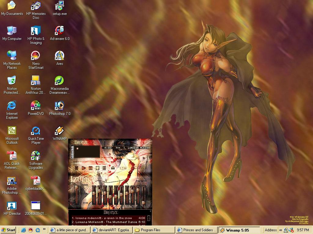 A-M's War of Genesis desktop