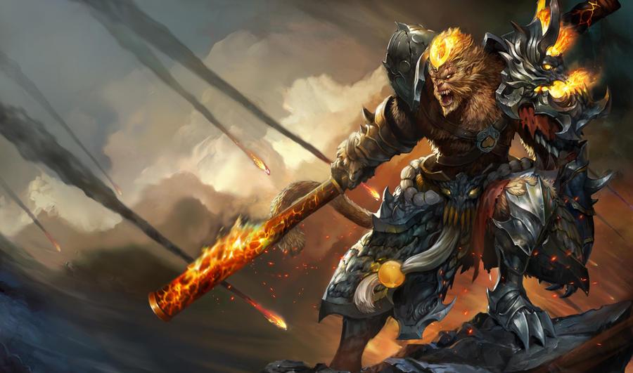 Original - Wallpaper Wukong by Hawkblade09