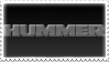 Hummer stamp by SiegRainer