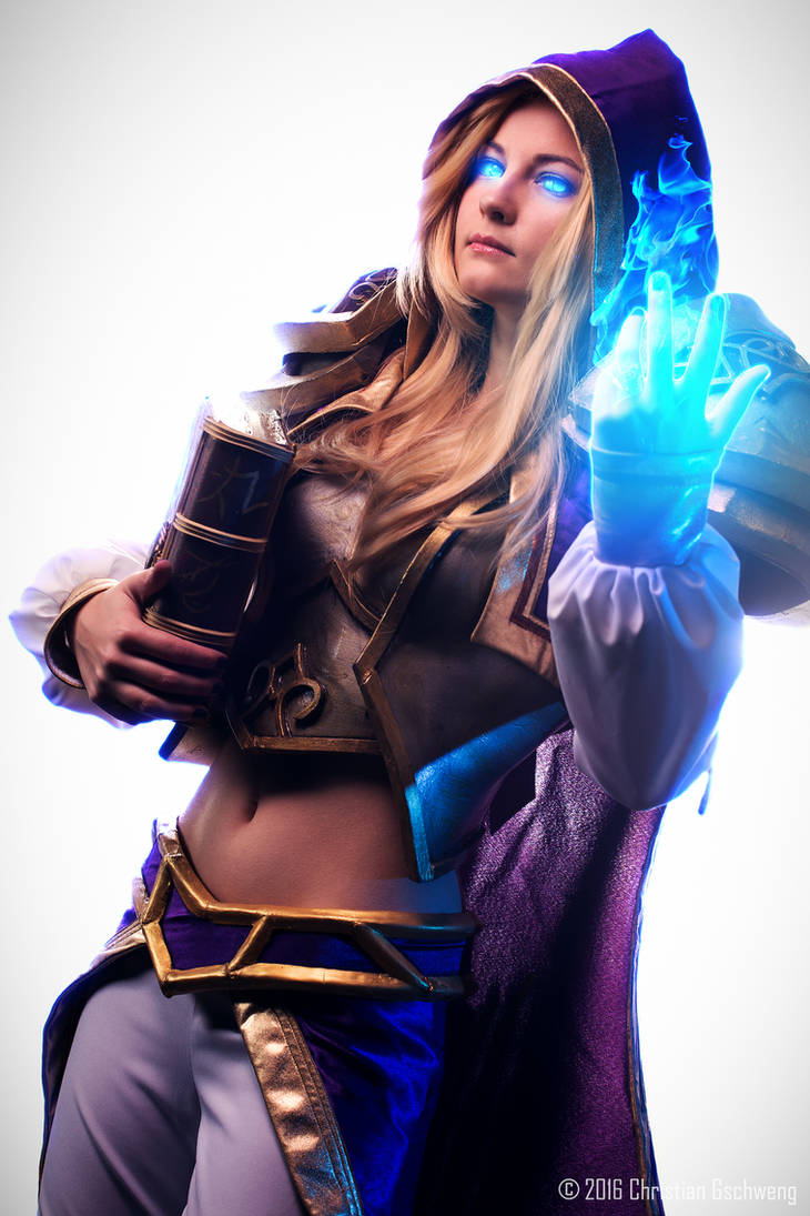 Jaina Proudmoore - My magic will tear you apart!