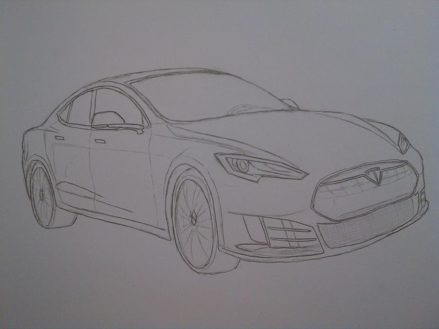 Pubg By Sodano On Deviantart: Tesla Model S By Epiphanik On DeviantArt