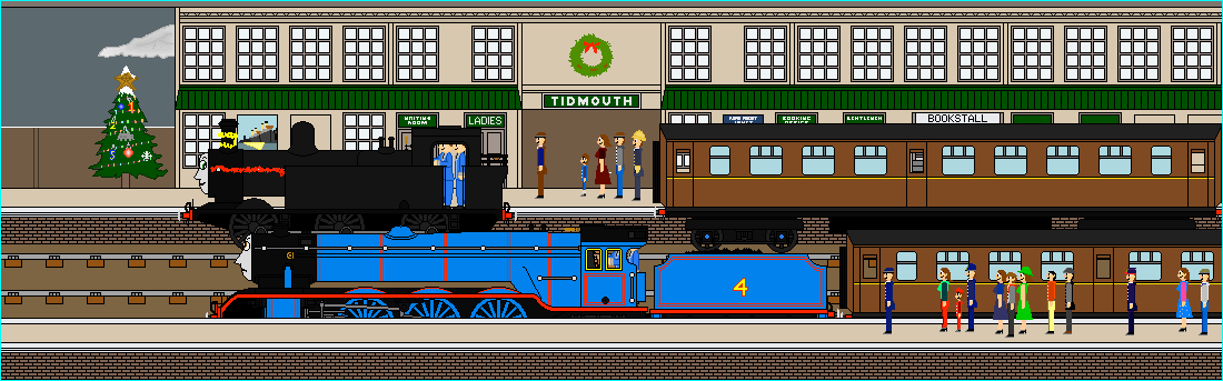 Scene from 'Christmas on the Slow Trains'