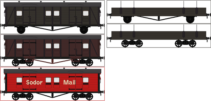 Classic Series Utility Vans and Flatbeds