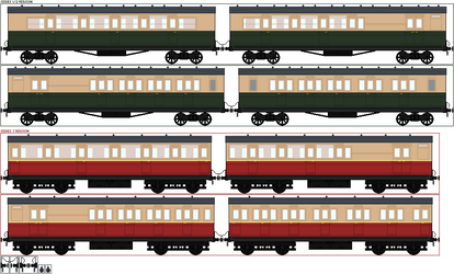 Classic Series Express Coaches - the short ones