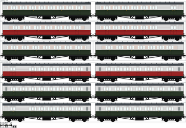 Classic Series Express Coaches - Series 2 Liveries