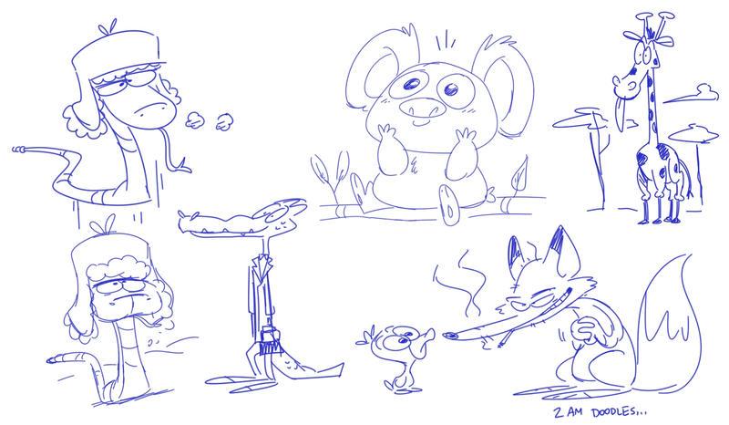 2am Doodles. by Sibsy