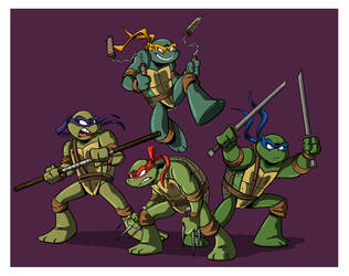 Turtles Together by Sibsy