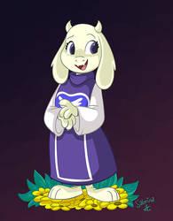 Goat mom by Sibsy