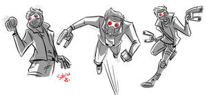 Star Lord Doodles