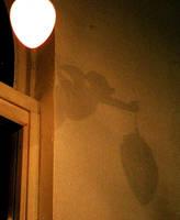 shadow on the wall by KatDiestel