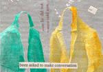 to make conversation