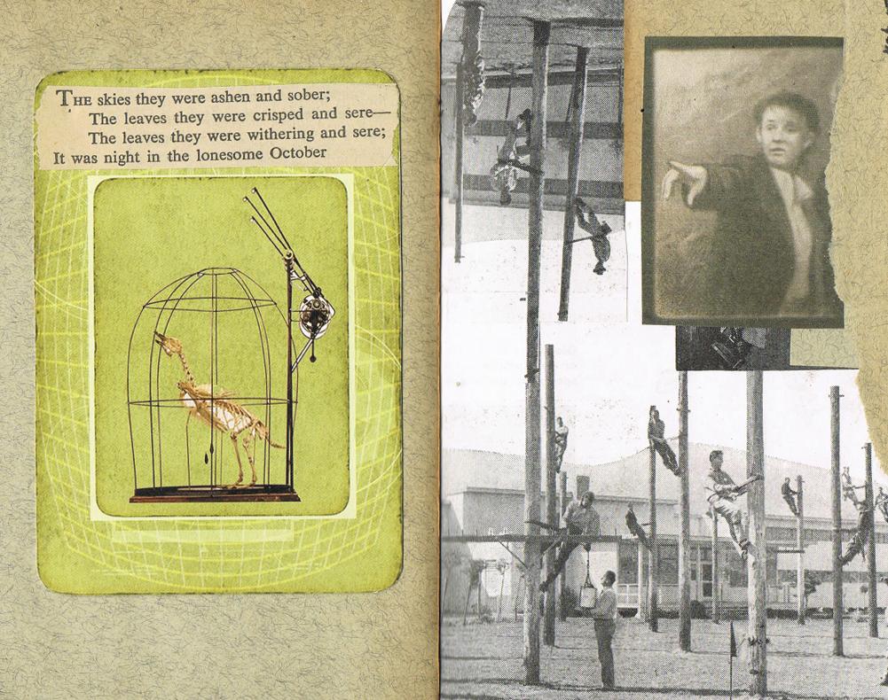 Flying Glue Book by KatDiestel
