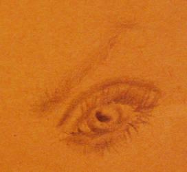 Late Drawing Day Scribble-Eye by FrEsHyLiCi0uZ