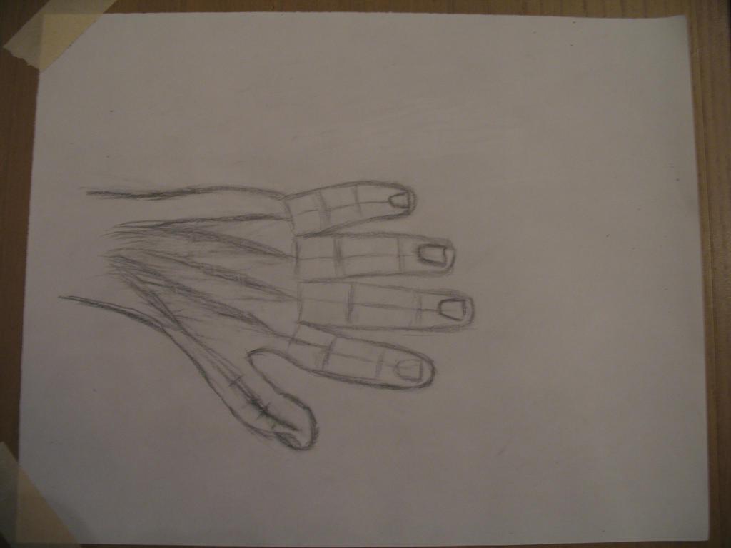 Mirrored hand by KuninGroup