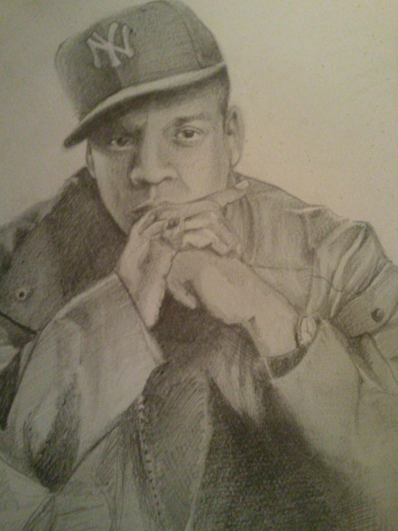 Jay Z Canvas Painting