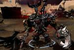 The Ork Warlord's Gaze