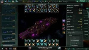Kalatix-Class Battleship