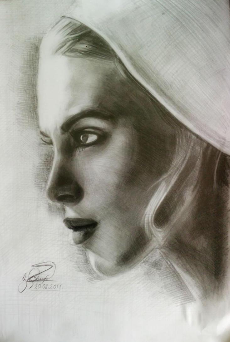 Keira Knightley by Vangega