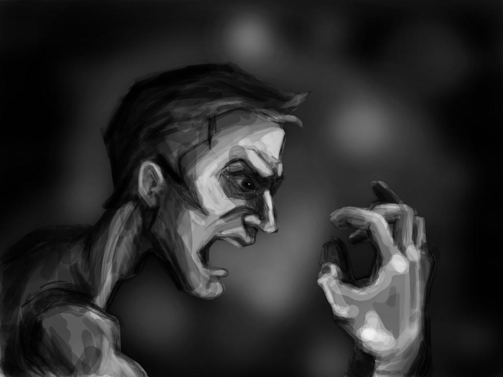 Anger by Vangega
